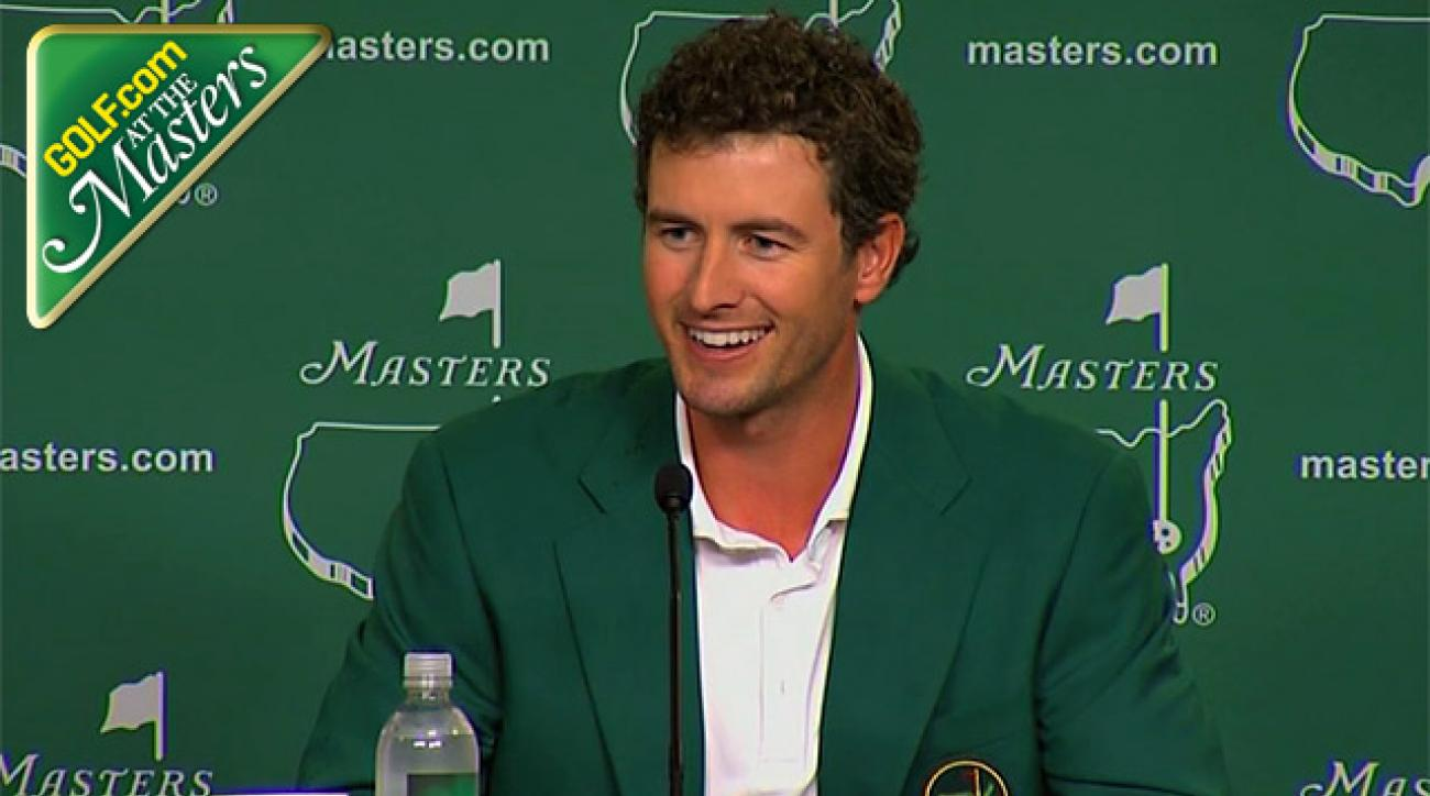 Adam Scott's press conference following his breakthrough Masters victory