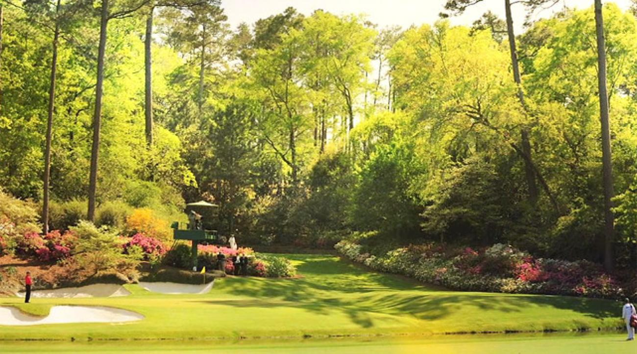 Masters 2015: Johnny Miller's Guide to Augusta National ... Handicap Logo Redesign