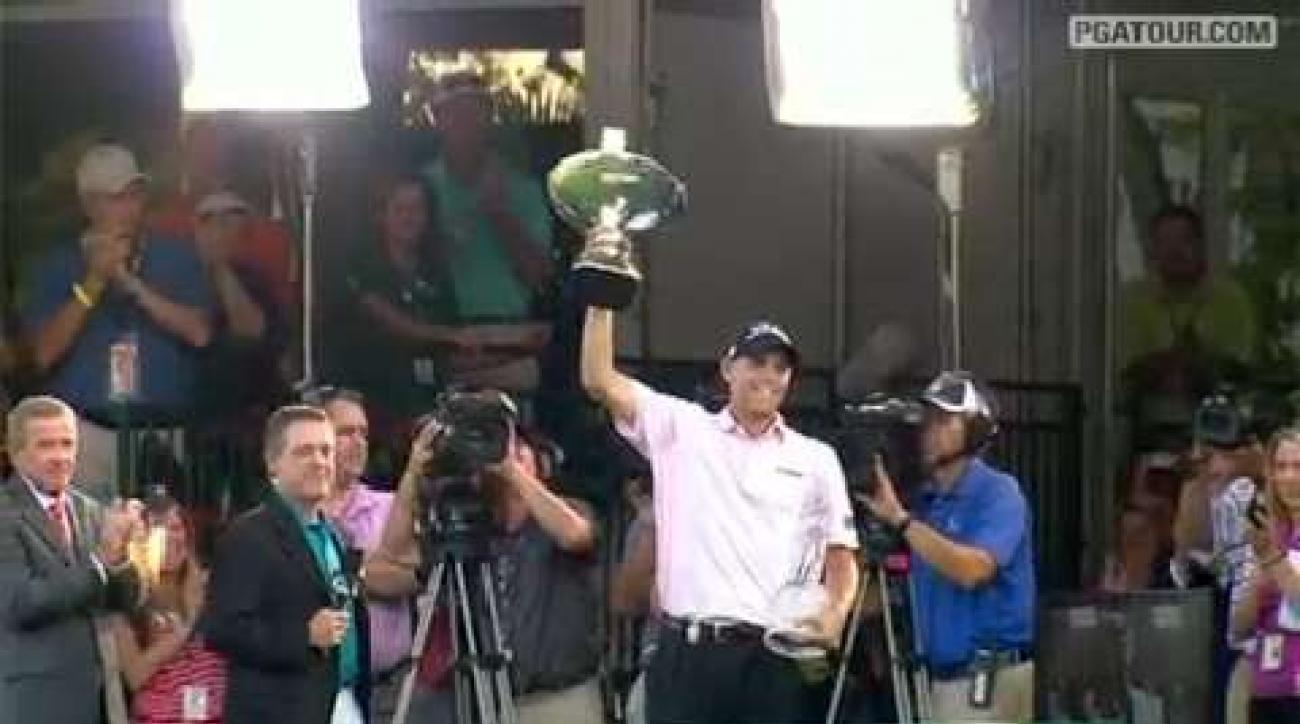 Ten Best Shots from the 2011 FedEx Cup playoffs