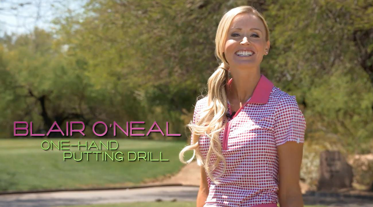 Hot Tip From a Hot Golfer: Blair O'Neal's One-Handed Putting Drill