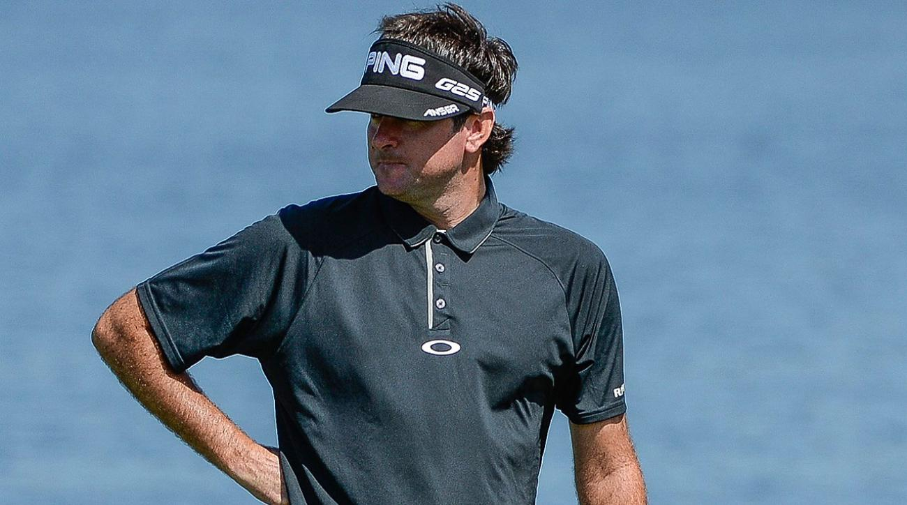 Bubba Watson visits NYC to talk Masters
