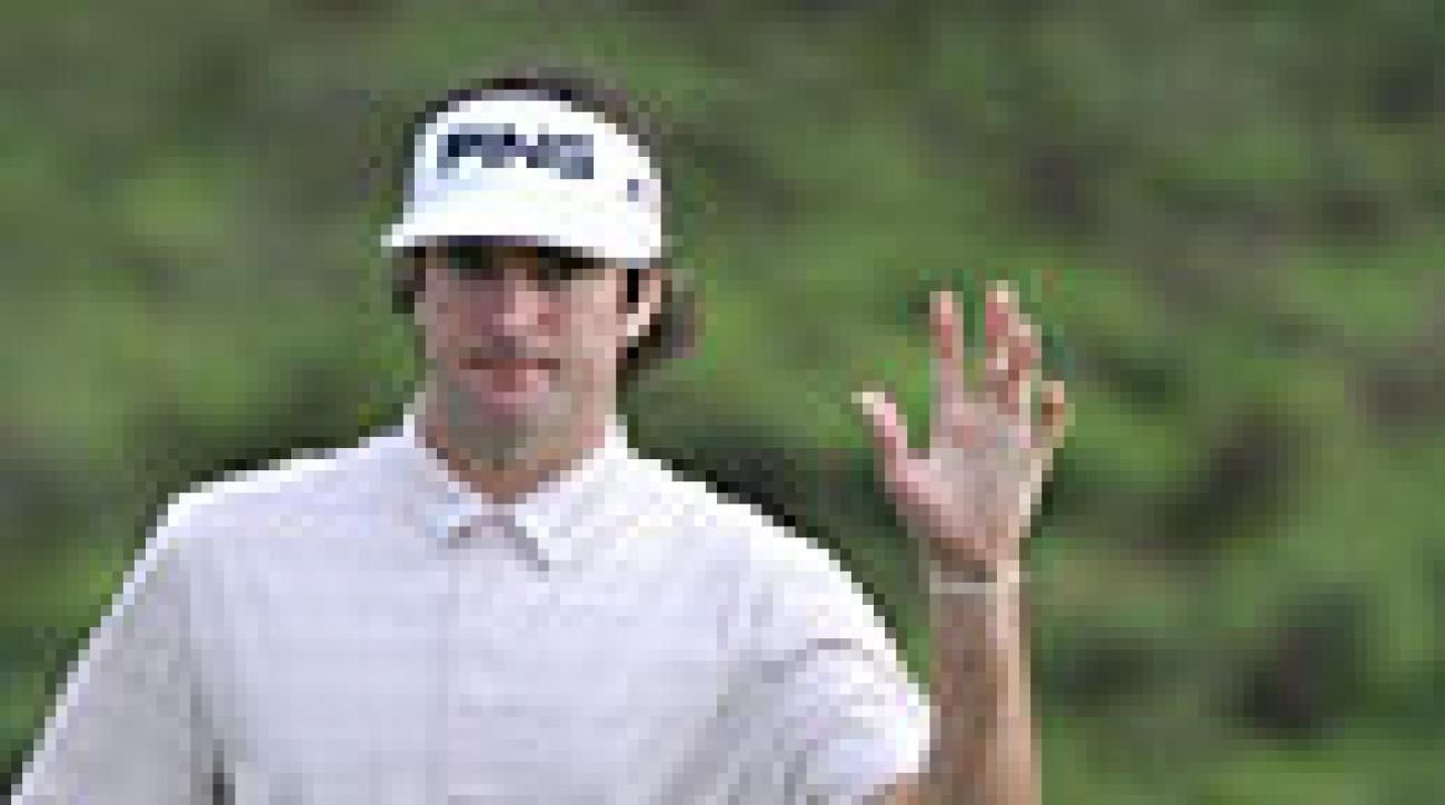 PGA Tour Shots of the Year: Bubba Watson's Driver off the Deck at Kapalua
