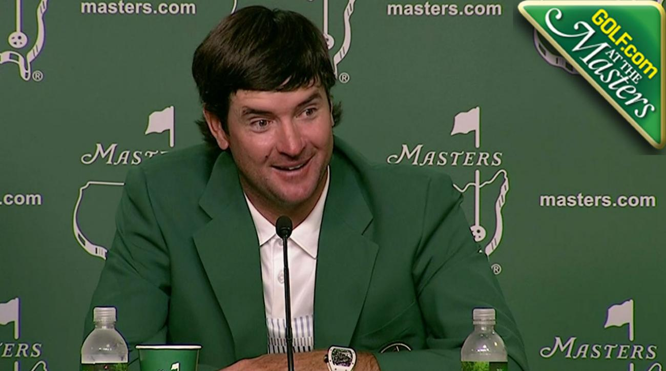 Bubba Watson's Response to a Question About Last Year's Masters is Priceless
