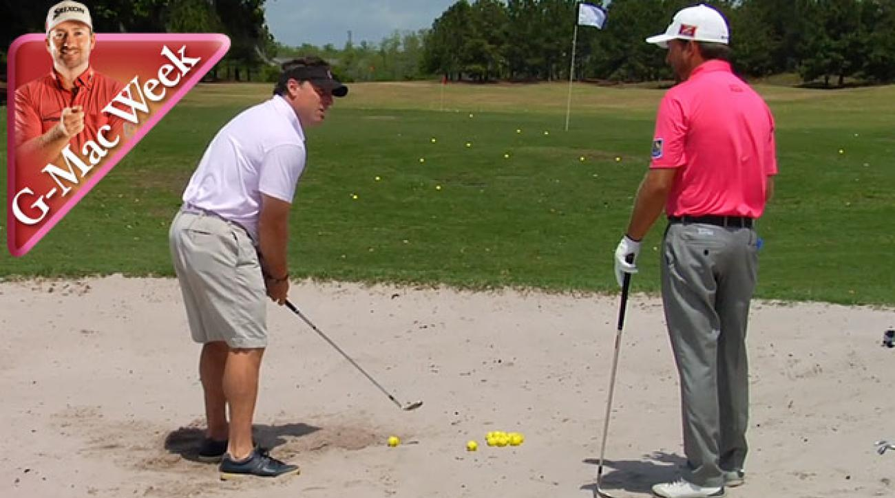 G-Mac Ambushes Amateur to Deliver a Lesson in Escaping Bunkers