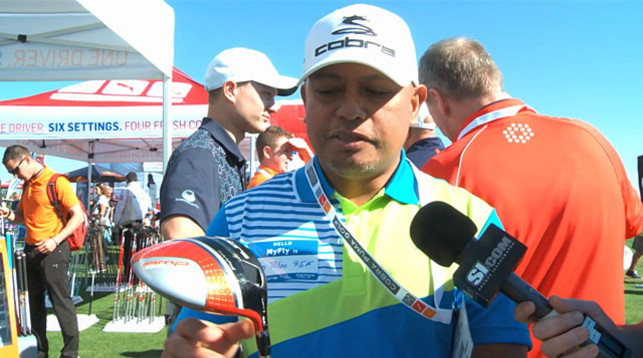 New drivers at the 2013 PGA Merchandise Show Demo Day