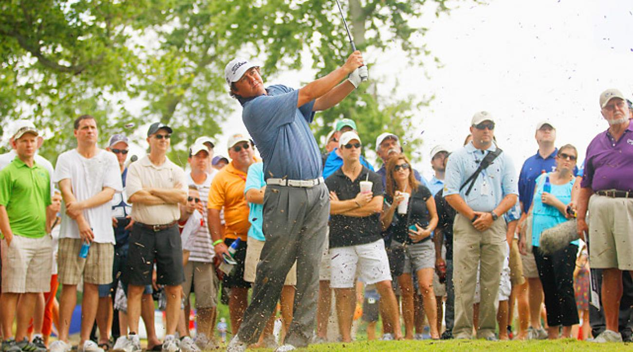 Big Play: Copy Dufner's waggle to improve your game