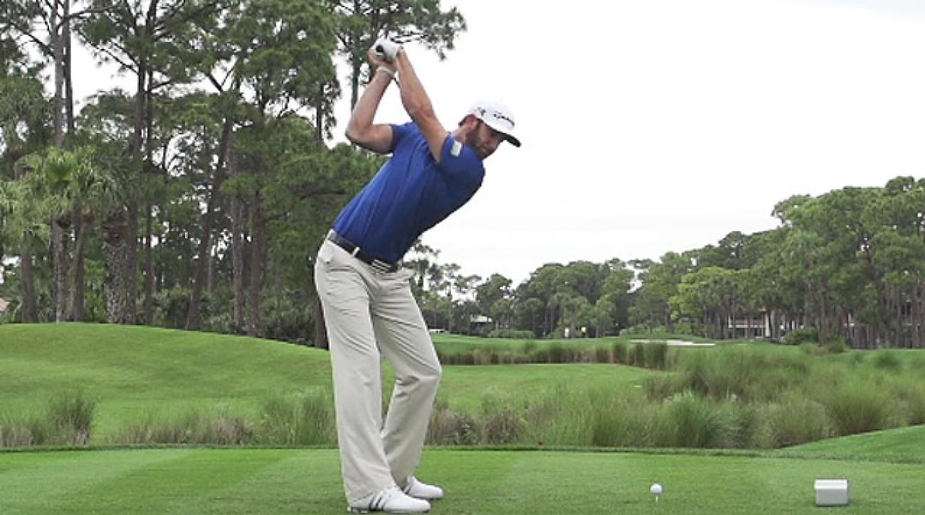 Dustin Johnson's Swing In Pure Slow Motion