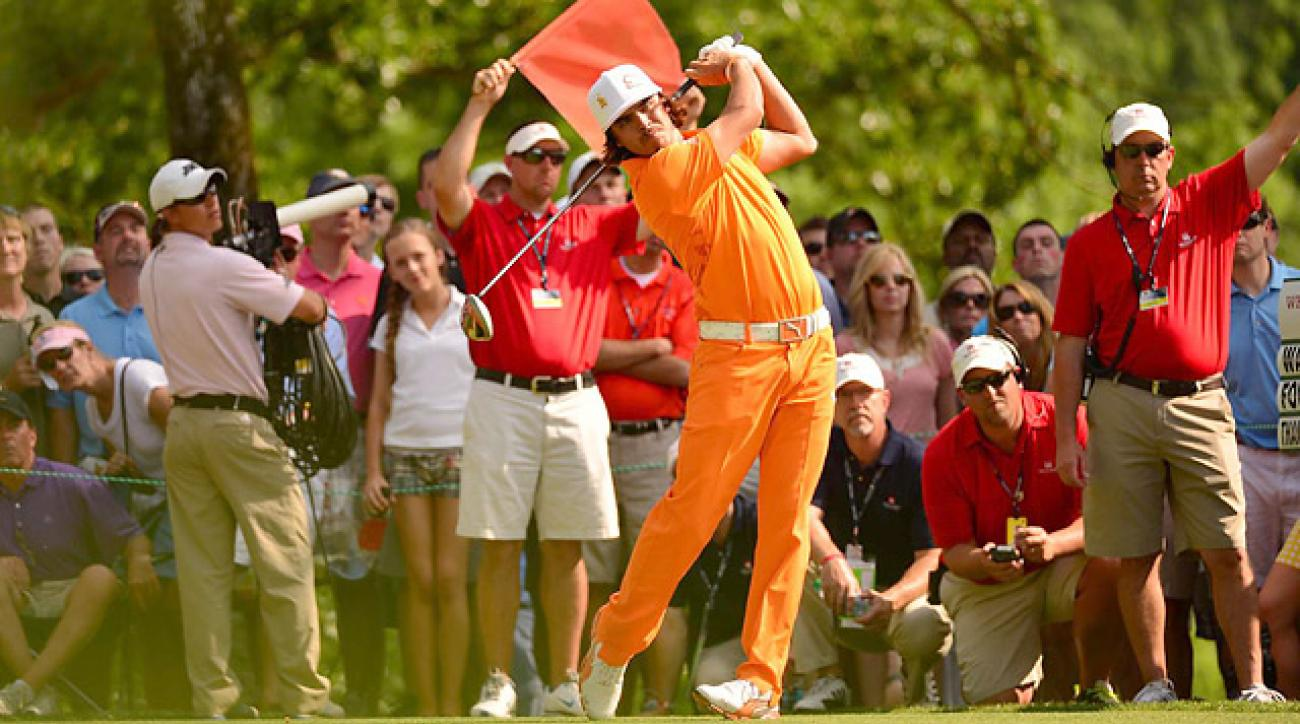 Two keys to Rickie Fowler's powerful swing