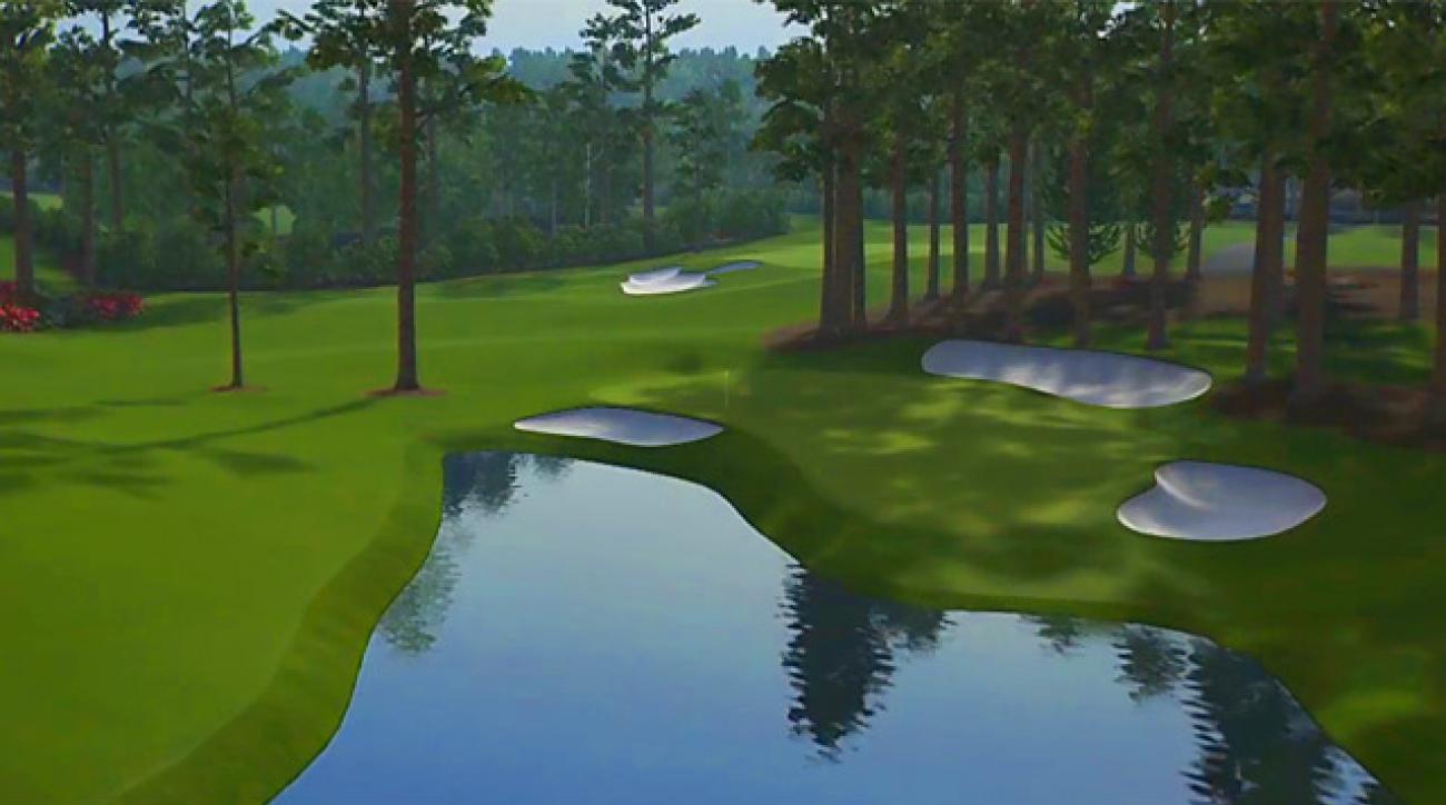 Trouble spots you'd be smart to avoid at Augusta National