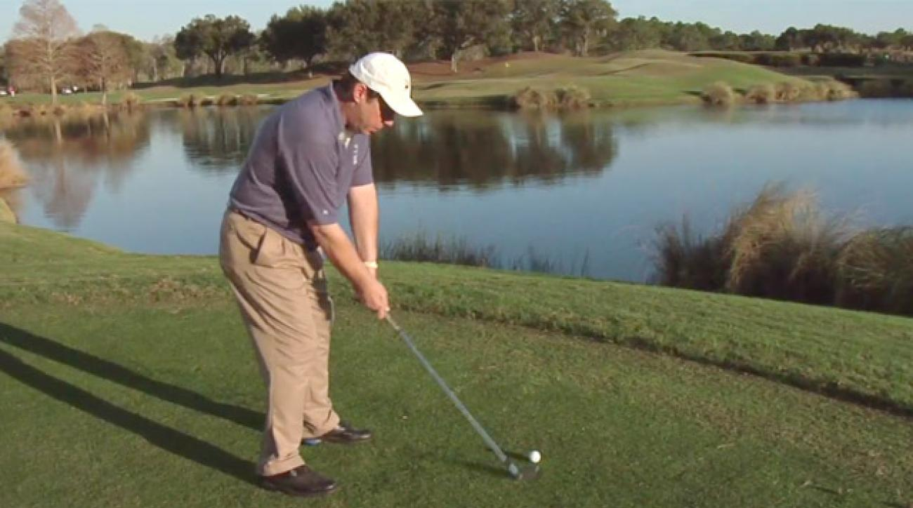 Finding a pre-shot routine