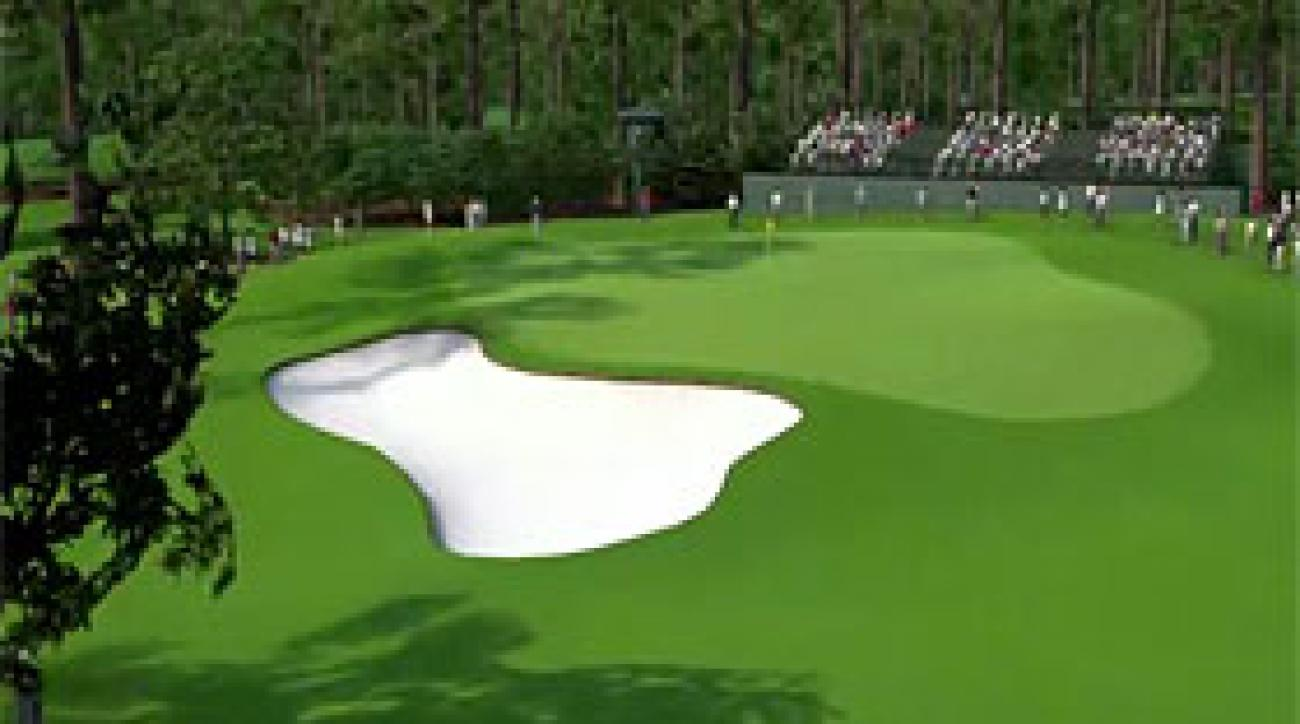 Augusta National Flyover: Hole No. 1