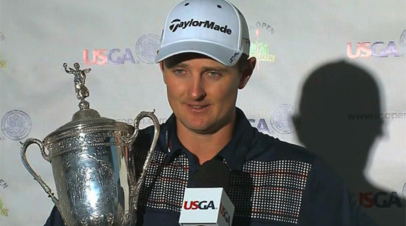 2013 U.S. Open champion Justin Rose dedicates win to his late father