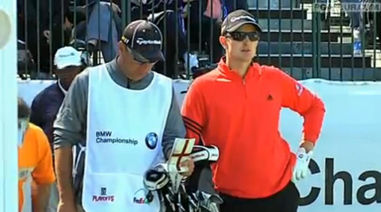 Justin Rose Interview at 2011 BMW Championship