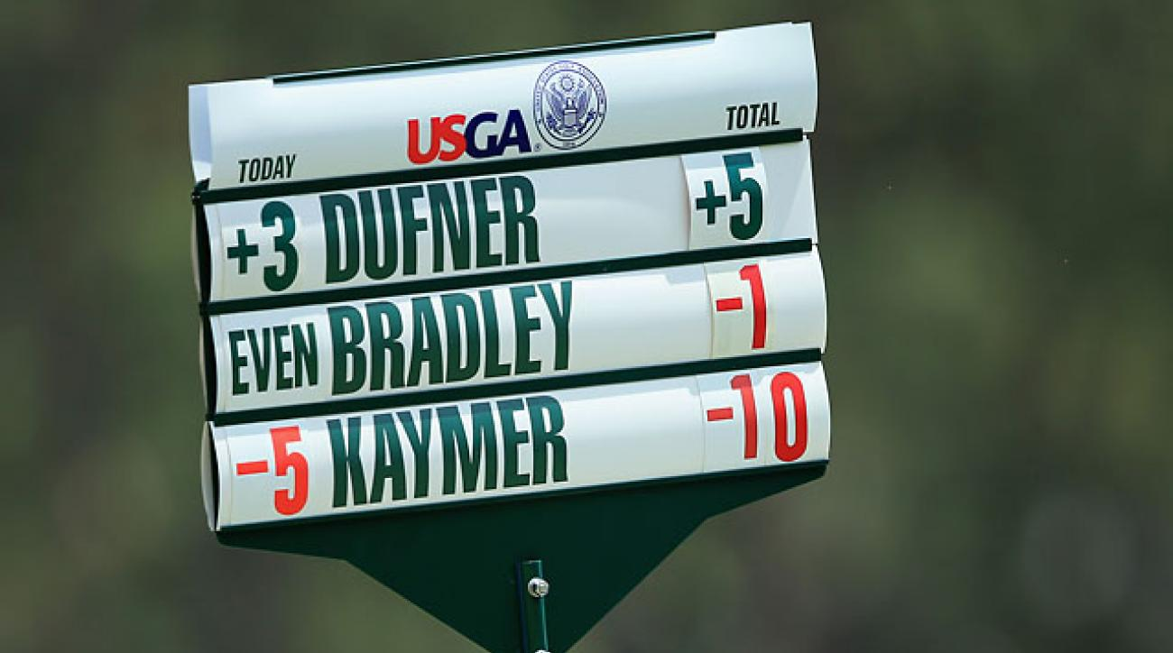 U.S. Open Round 2 Highlights: Martin Kaymer Soars While Mickelson Can't Get Putter Going