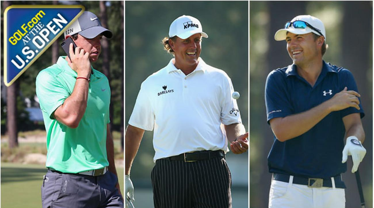 Golf.com Live From Pinehurst: The Latest on Phil Mickelson, Rory McIlroy and Jordan Spieth on Our U.S. Open Show