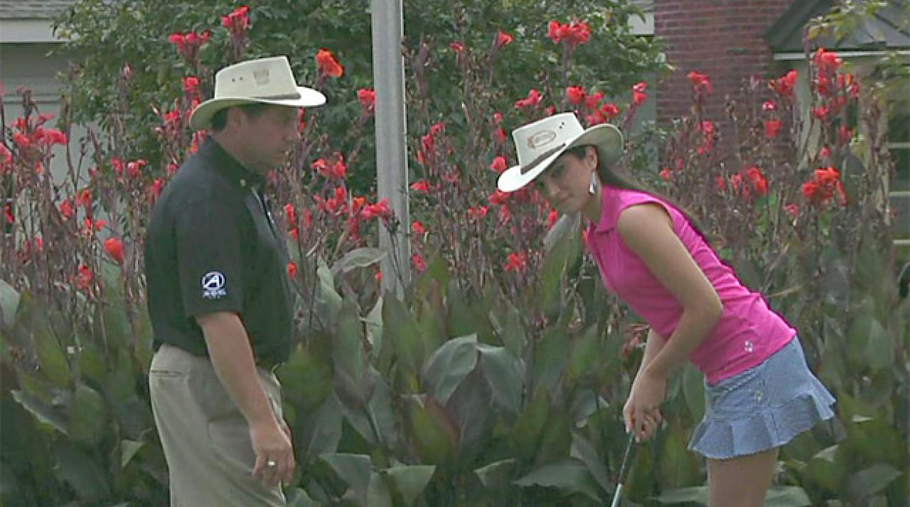 Better By Saturday: Putting Lesson With Miss Philadelphia