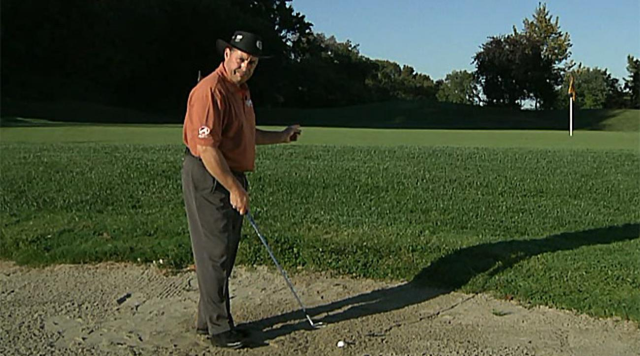 Better By Saturday: How to master a plugged bunker shot