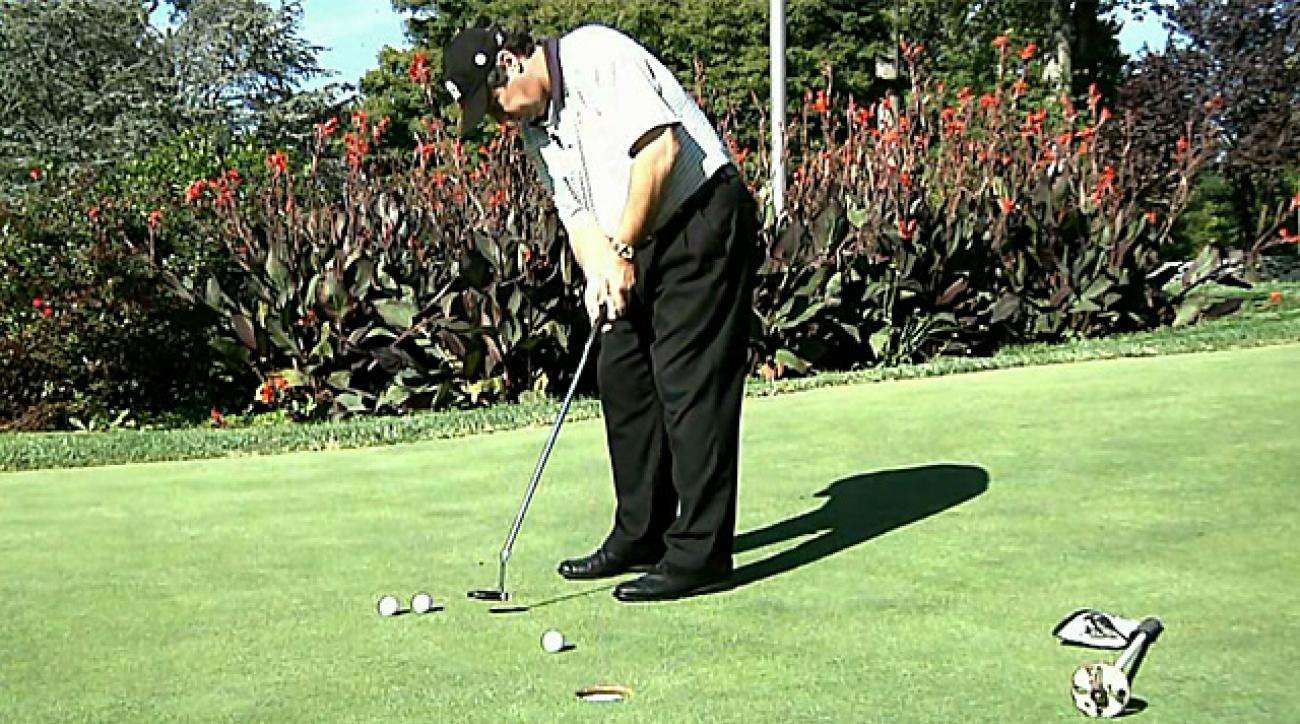 Lou's Lab: One-Ball Putting Drill