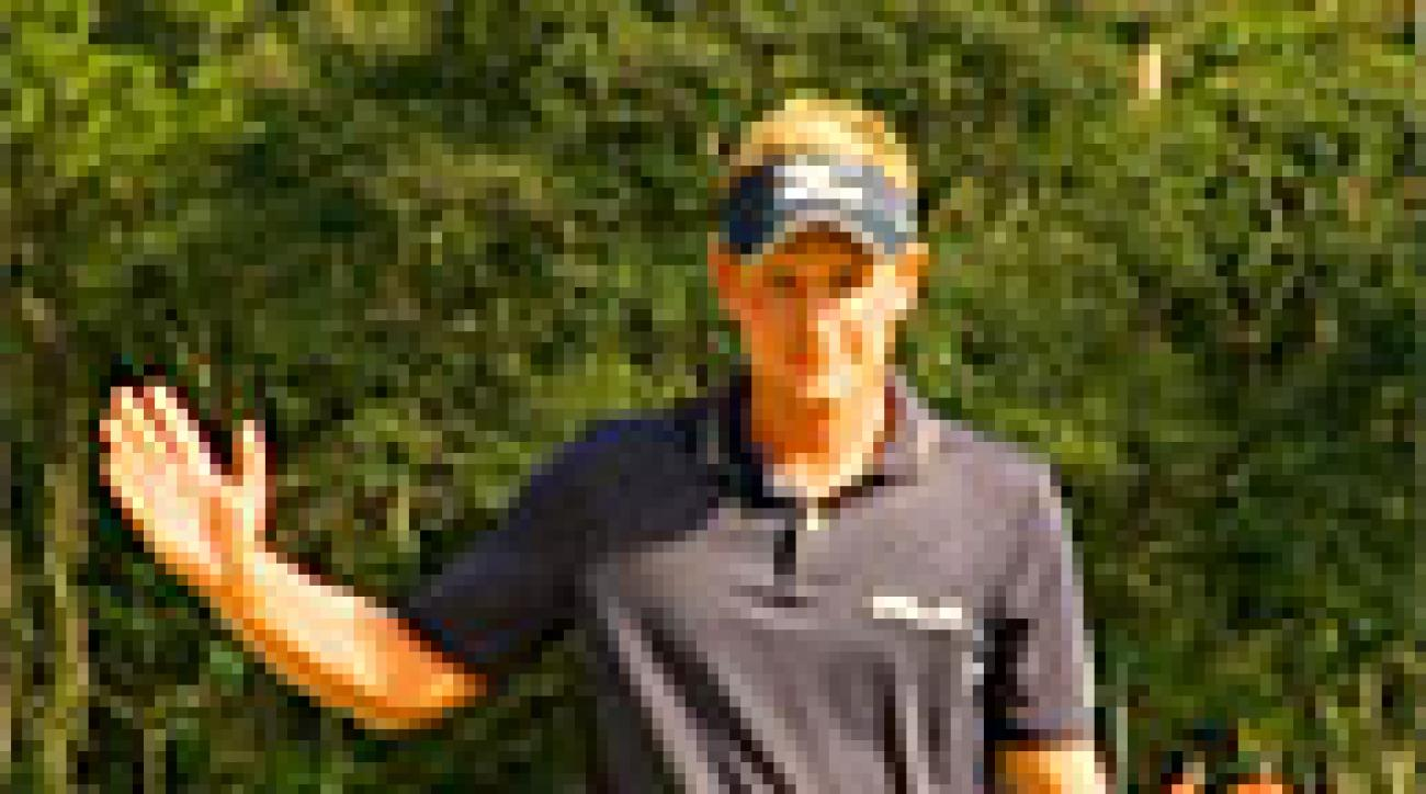 PGA Tour Shots of the Year: Luke Donald's Birdie Run at Disney