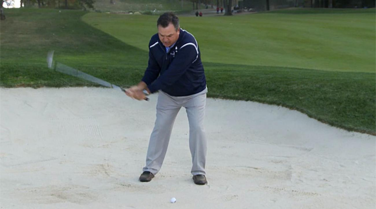 Keys to Martin Kaymer's fairway bunker shot at Ryder Cup