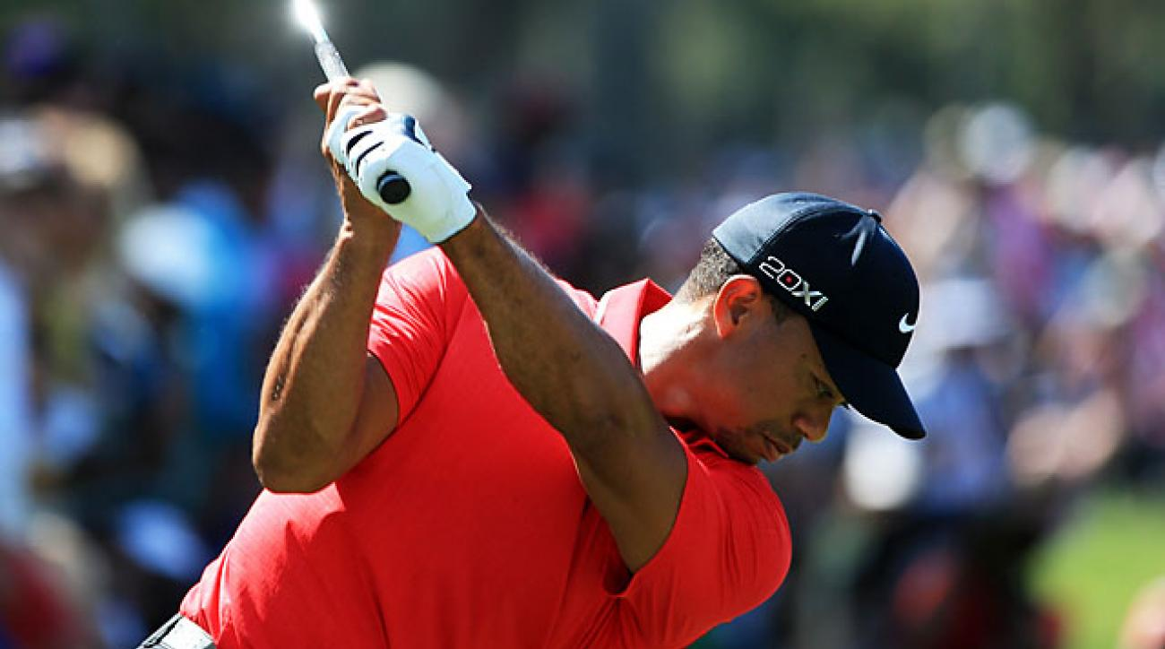 Tiger Woods Grip Instruction Tip Golf Com