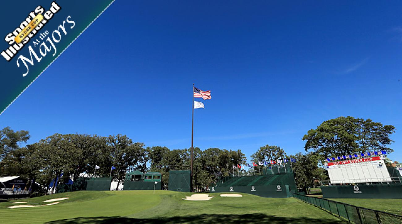 Course setup favors long hitters at Medinah