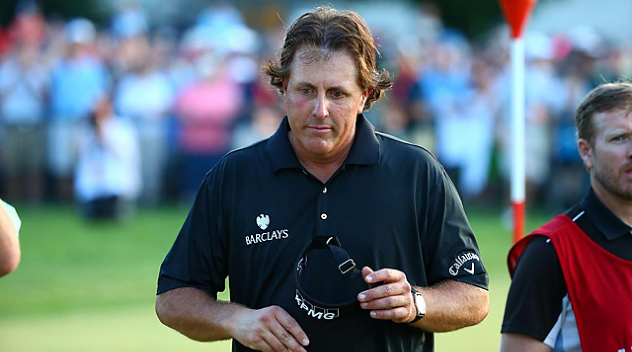 Mickelson heartbroken again following runner-up finish at Merion