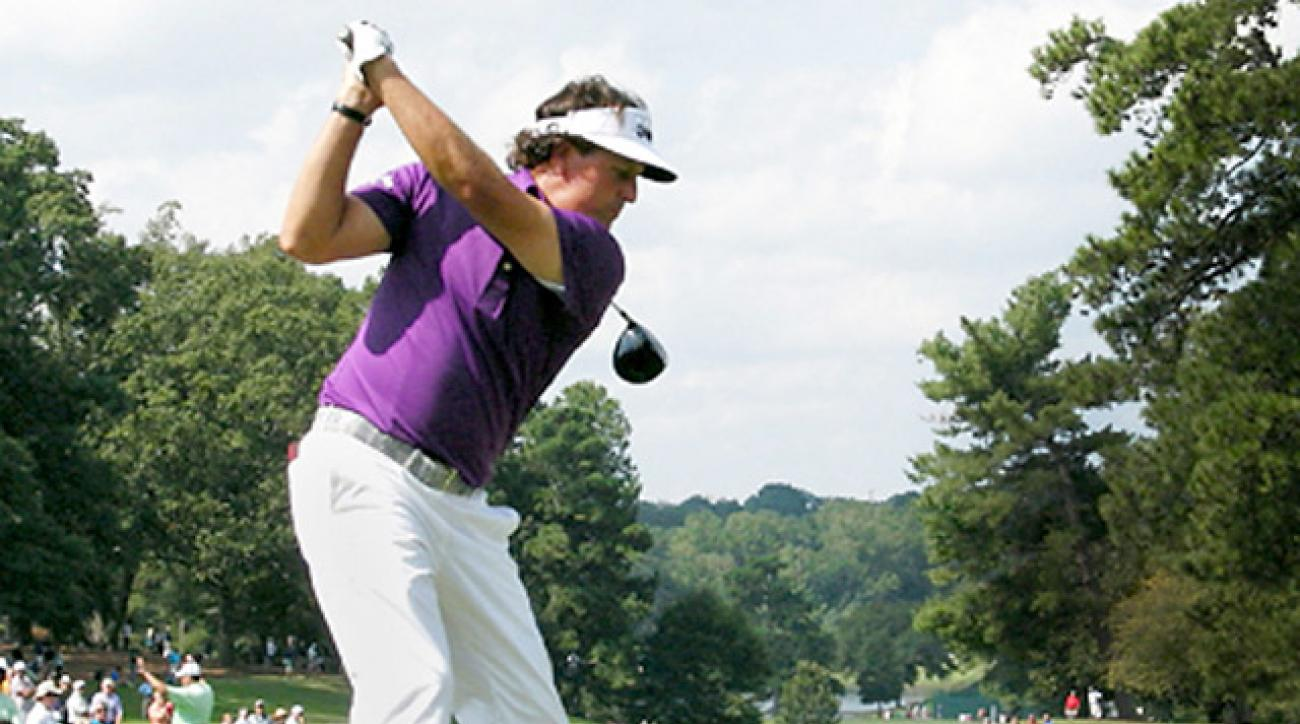 Improve Your Game By Watching Phil Mickelson Swing Righty