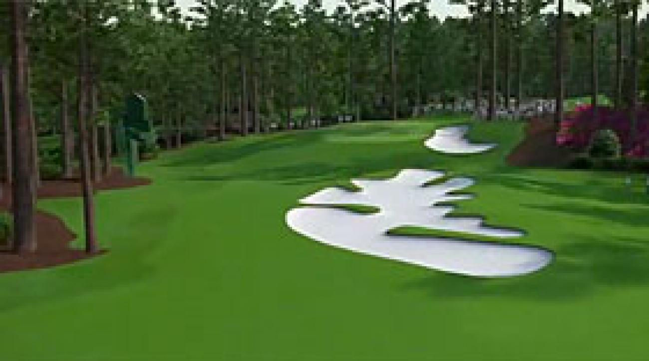 Augusta National Flyover: Hole No. 10