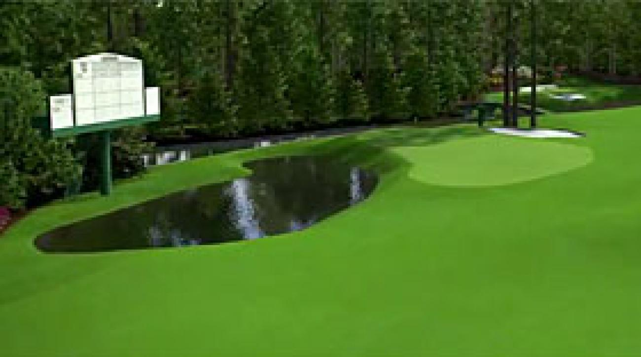 Augusta National Flyover: Hole No. 11