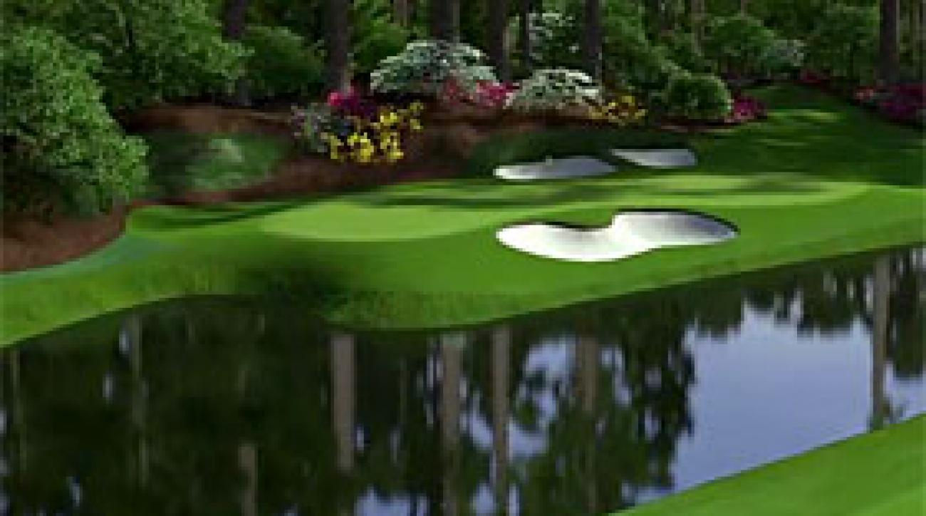 Augusta National Flyover: Hole No. 12