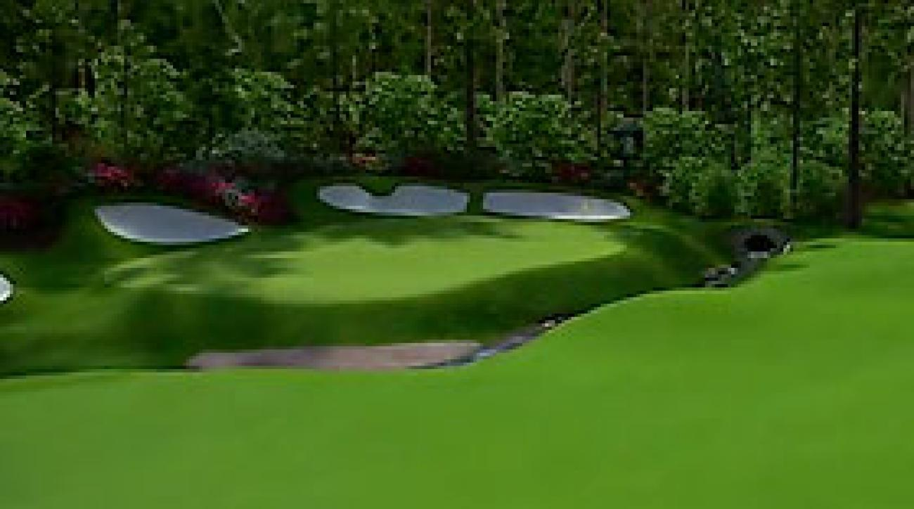 Augusta National Flyover: Hole No. 13