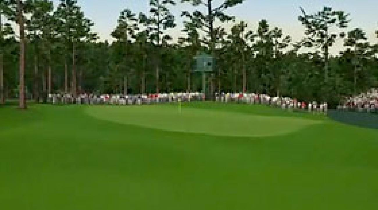 Augusta National Flyover: Hole No. 14