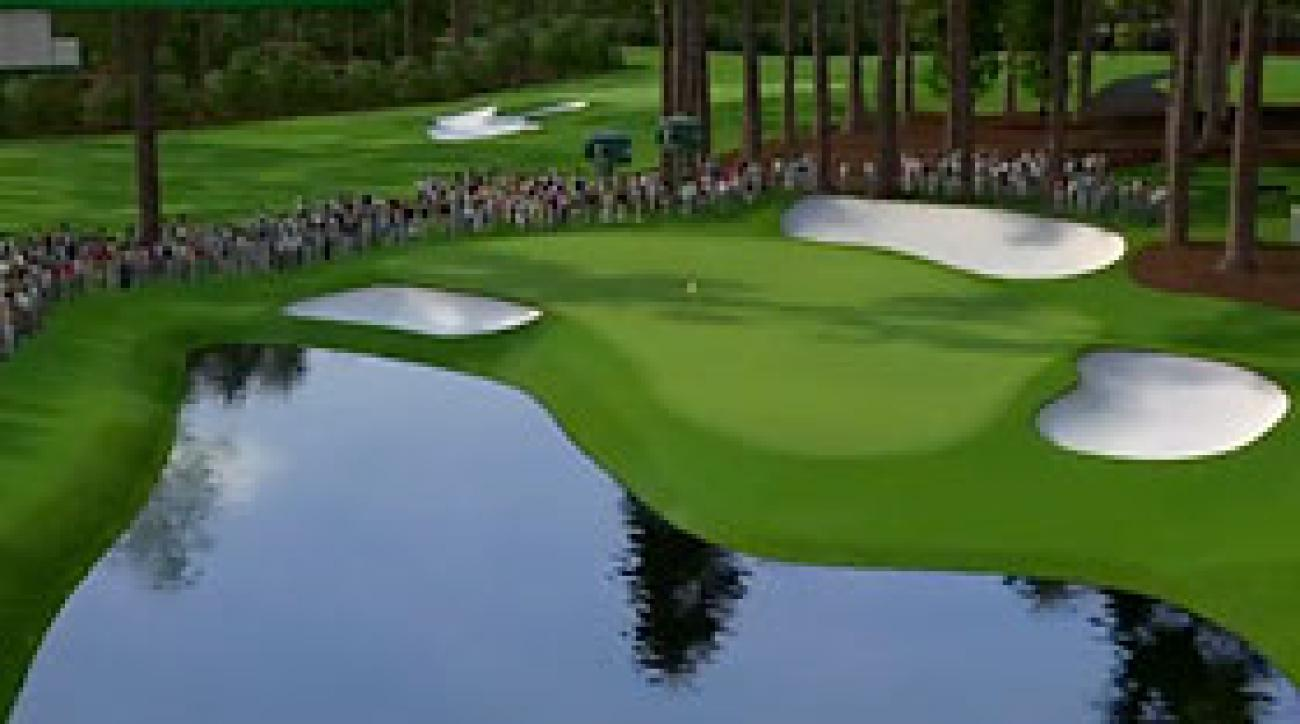 Augusta National Flyover: Hole No. 16