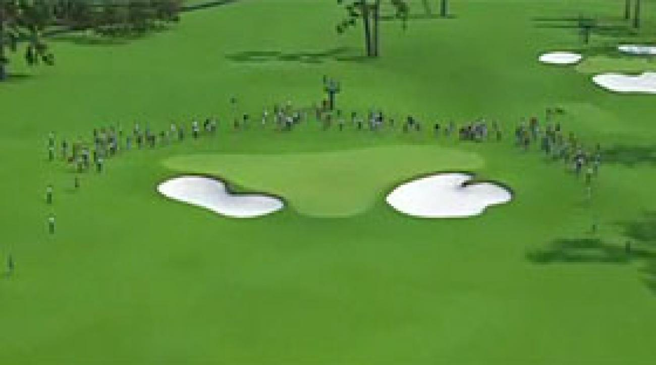 Augusta National Flyover: Hole No. 2