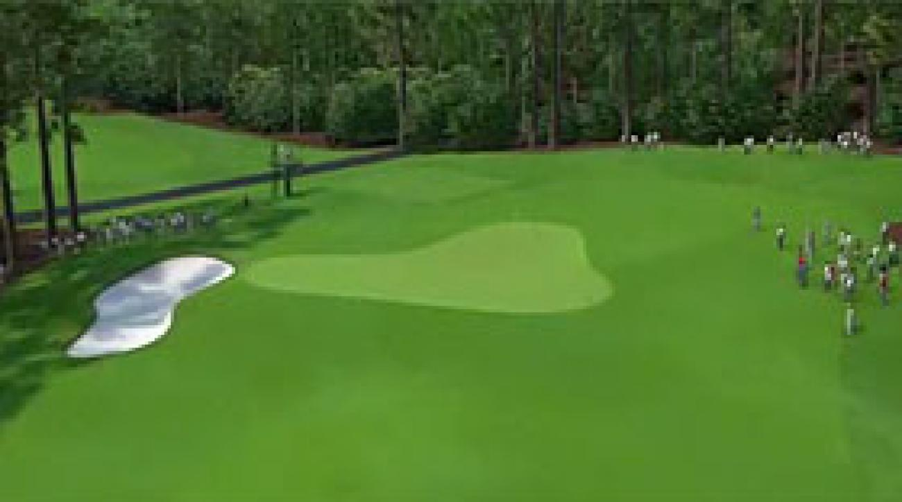 Augusta National Flyover: Hole No. 3