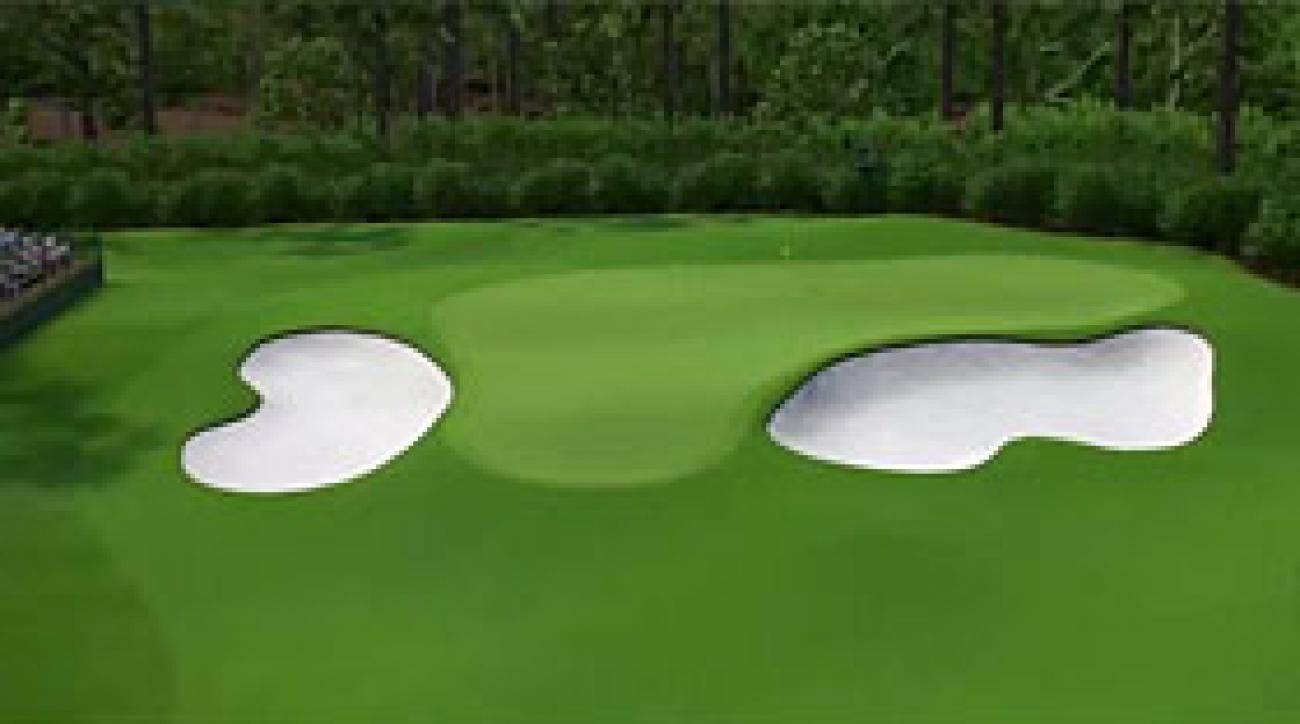 Augusta National Flyover: Hole No. 4