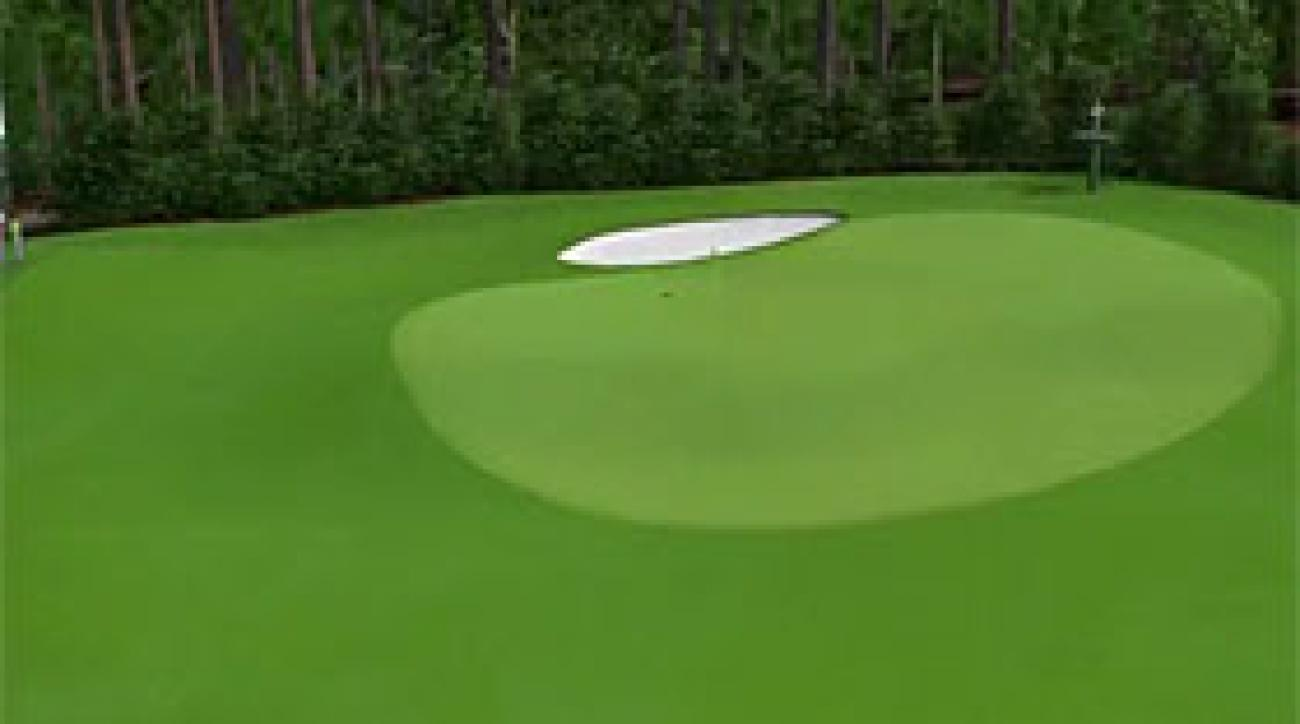 Augusta National Flyover: Hole No. 5