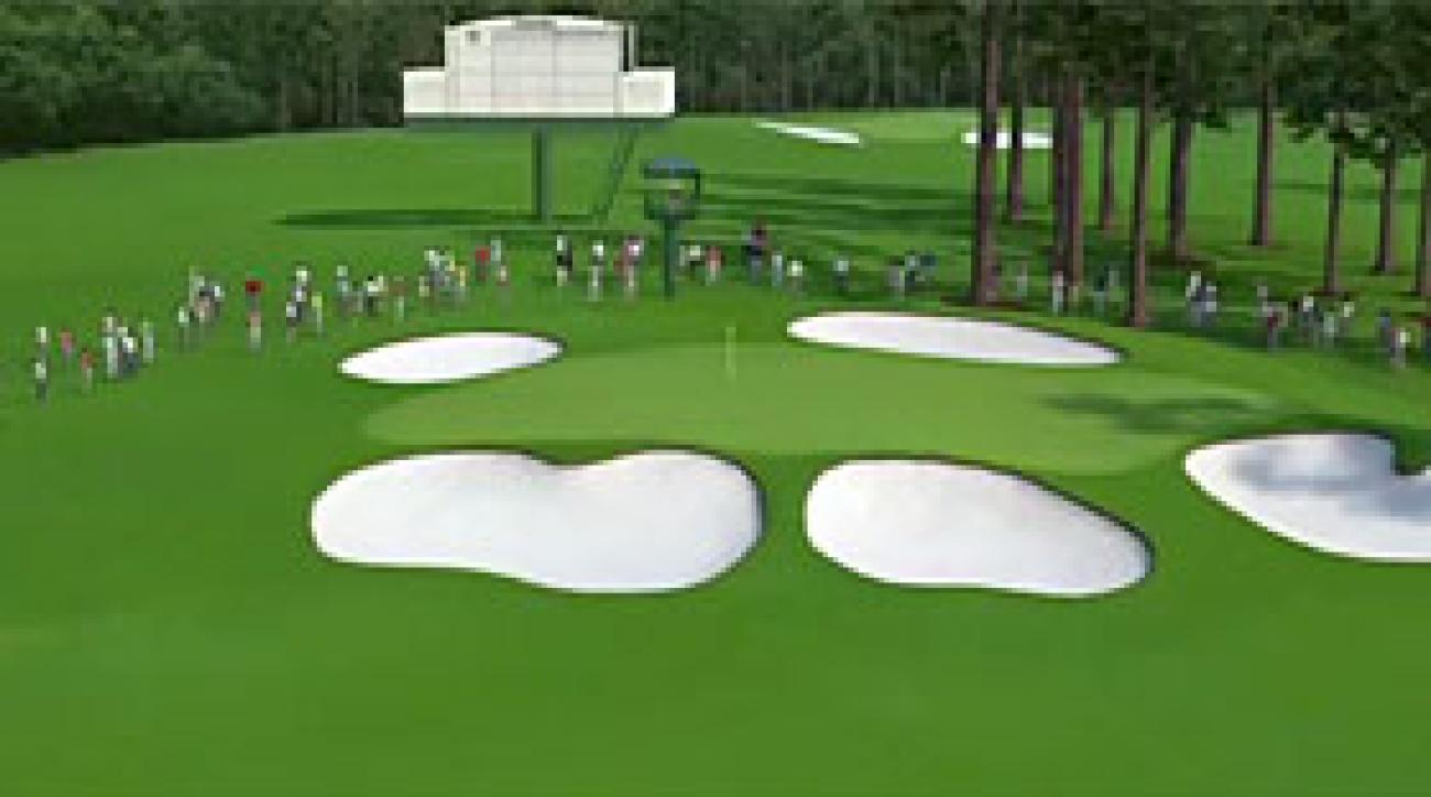Augusta National Flyover: Hole No. 7