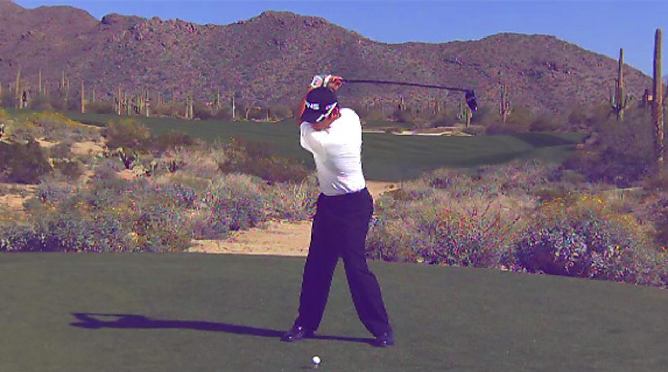 Louis Oosthuizen's Swing In Slow Motion