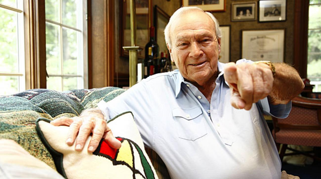 Arnold Palmer shares his favorite memories