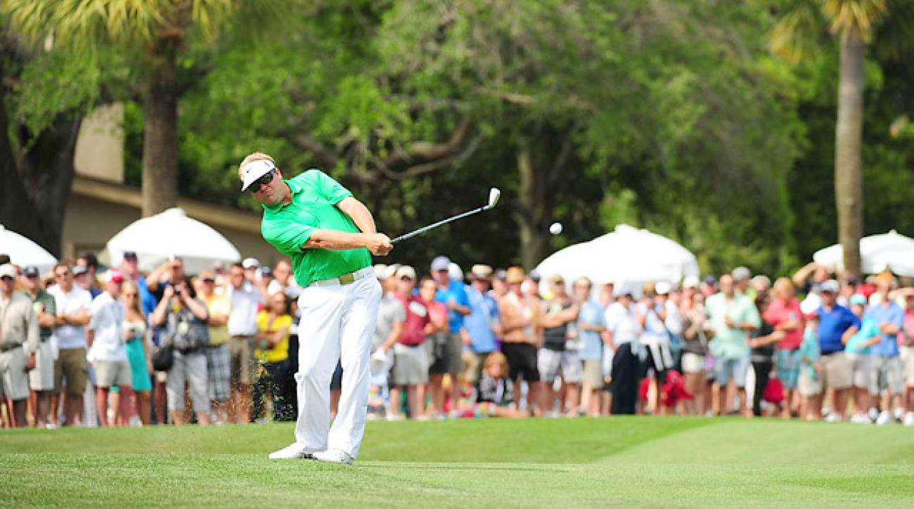 Big Play: Pettersson's unconventional swing at Harbour Town