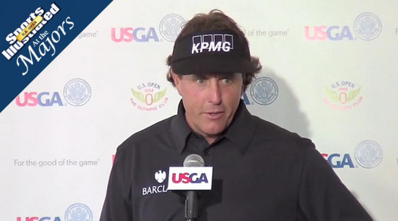 Phil Mickelson struggles to first-round 76 at Olympic