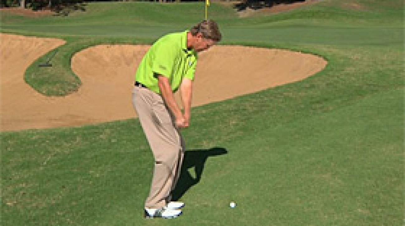 Hump Day Tip: Pitch with Chipping Stroke