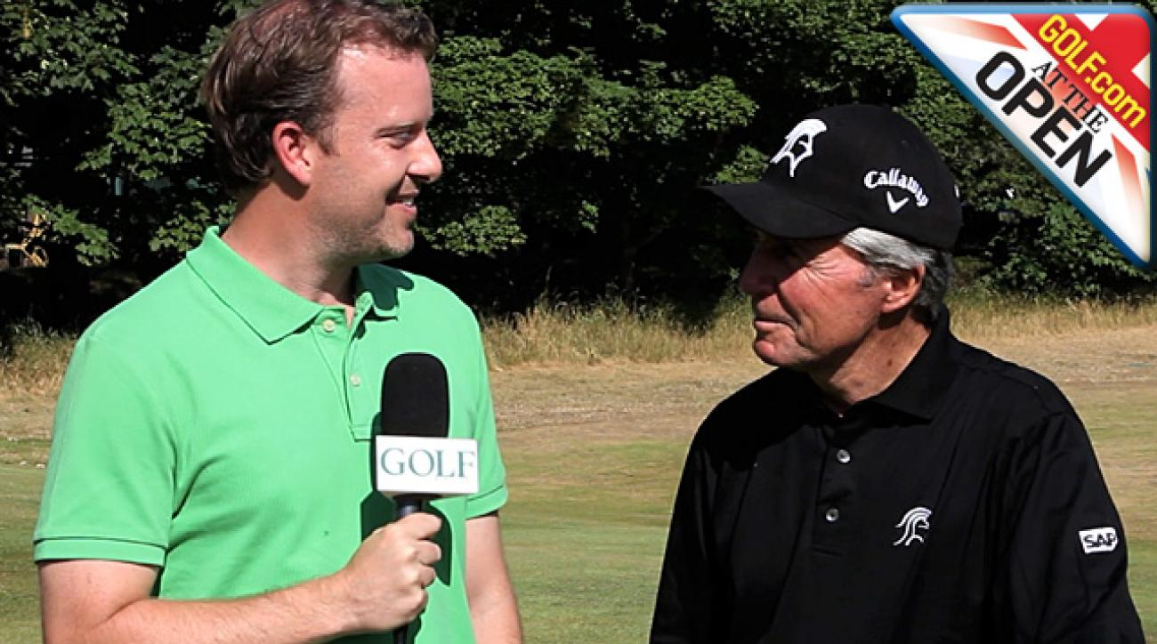 Gary Player on PEDs in sports, Muirfield memories and posing naked for ESPN