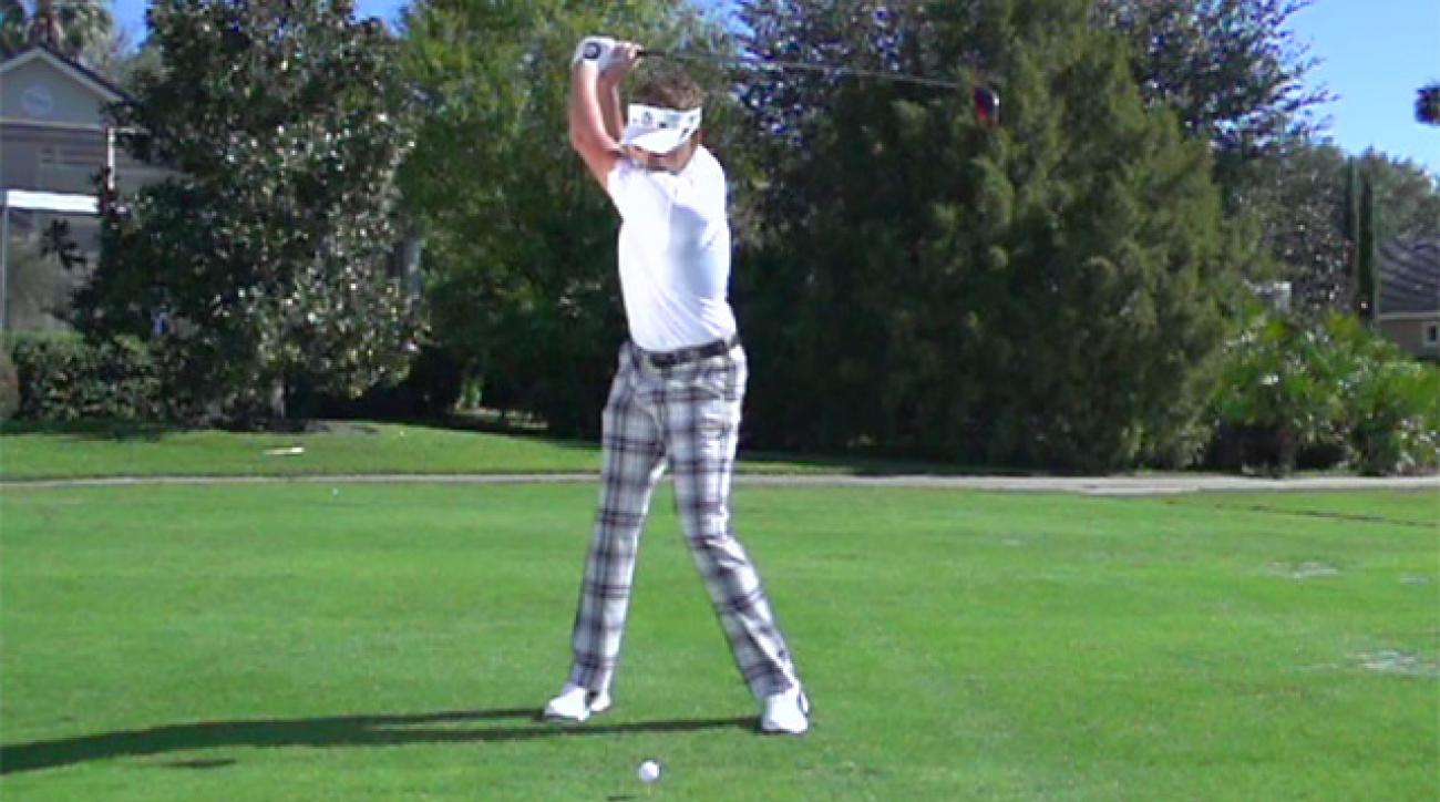 Ian Poulter's Swing In Slow Motion