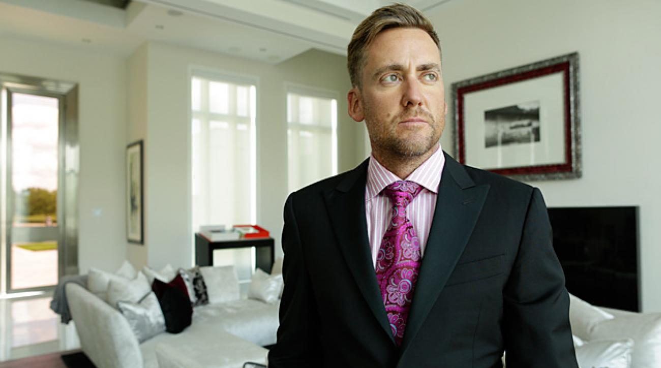 Behind the Scenes at Ian Poulter's Sports Illustrated Cover Shoot