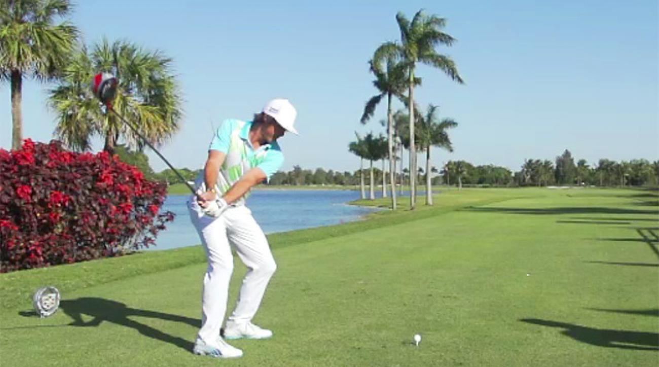 Rickie Fowler's Swing In Slow Motion
