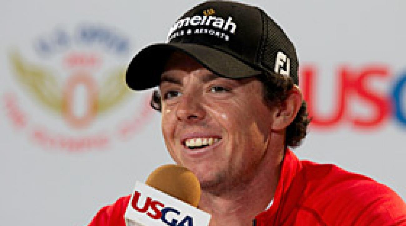 Rory McIlroy press conference at 2012 U.S. Open