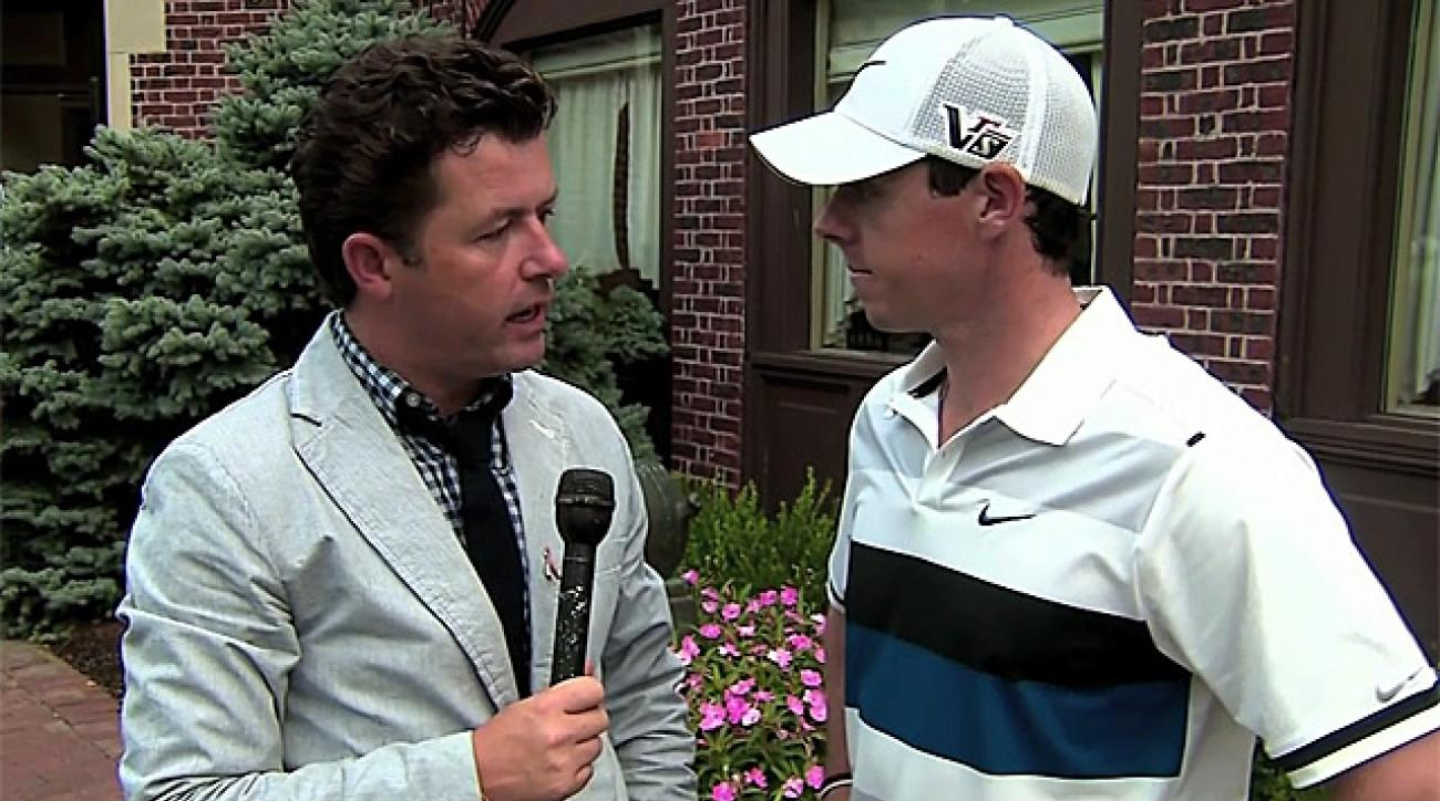 McIlroy: 'I'm just trying to play golf again'